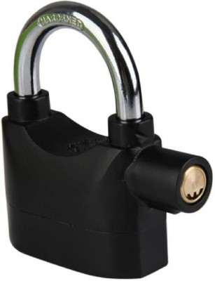 Tuelip High Security Alarm Safety Lock (Black) Safety Lock(Black)