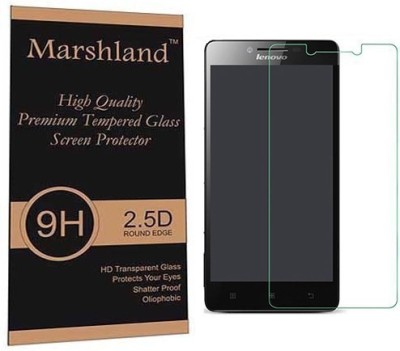 Marshland Tempered Glass Guard for Lenovo A6000 Pack of 1 Marshland Screen Guards