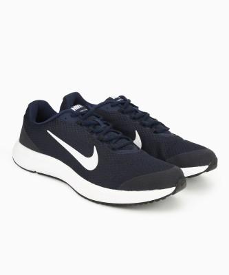 Nike RUNALLDAY Running Shoes For Men(Navy, White, Grey) 1