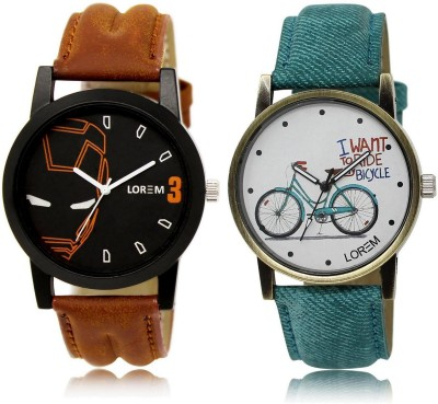 Kissu Vintage Pack Of 6 Watch  - For Men & Women