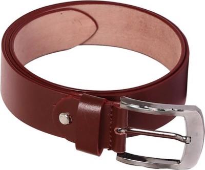 Tamanna Men Casual Tan Genuine Leather Belt