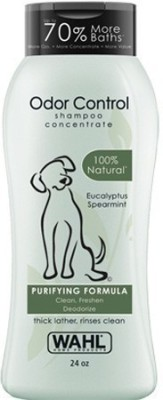 Wahl Odor Control Anti-dandruff, Conditioning Spearmint Natural Dog Shampoo(709 ml)