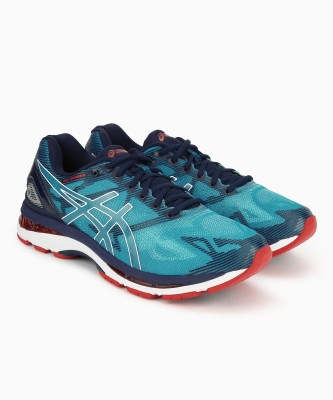 meet 8a765 e1b10 Asics GEL-NIMBUS 19 (2E) Running Shoes For Men(Blue)