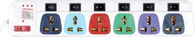 Pinnacle Pinnacle 5 Socket Surge Protector(Multicolor)