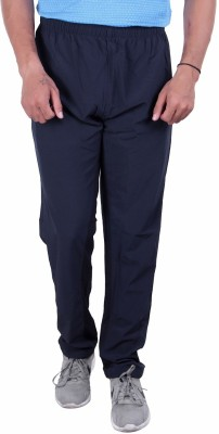 POWERHAWKE Solid Men Blue Track Pants