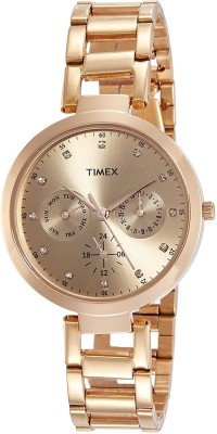 Timex TW000X209 Analog Brown Dial Women's Watch (TW000X209)