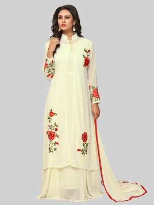 ISHA TRADE Embroidered Kurta & Salwar(Stitched) Flipkart