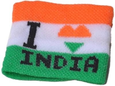 mushti National Flag Wrist Band A-Foldable Body Flag Flag(Cotton)
