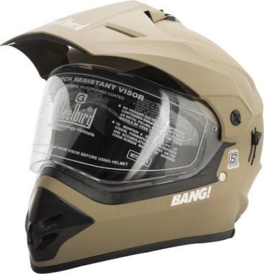 Steelbird BANG Motorbike Helmet(DESERT STROM)