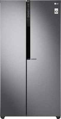 Image of LG 679 L Frost Free Side by Side Refrigerator which is best refrigerator under 70000
