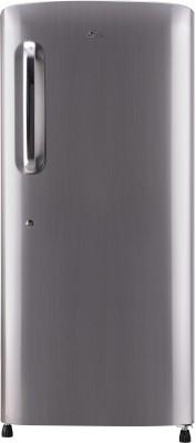 LG 215 L Direct Cool Single Door 4 Star  2020  Refrigerator Shiny Steel, GL B221APZY LG Refrigerators