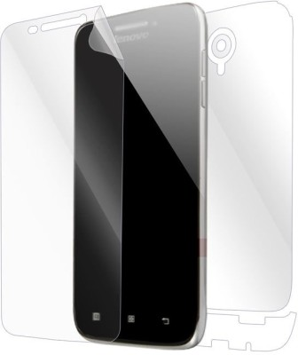 Snooky Front and Back Tempered Glass for Lenovo S650(Pack of 1)