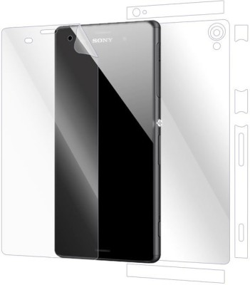 Snooky Front and Back Tempered Glass for sony xperia z3(Pack of 1)