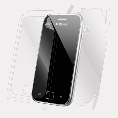 Snooky Front and Back Tempered Glass for Samsung Galaxy Ace Duos S6802(Pack of 1)