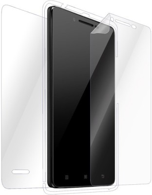 Snooky Front and Back Tempered Glass for Lenovo A6000 Plus(Pack of 1)