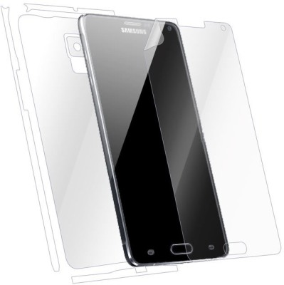 Snooky Front and Back Tempered Glass for Samsung Galaxy Note 4(Pack of 1)