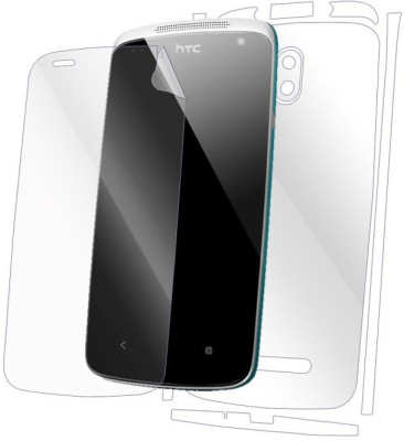 Snooky Front and Back Tempered Glass for HTC Desire(Pack of 1)
