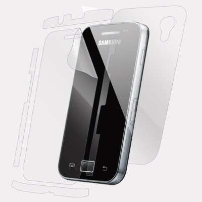 Snooky Front and Back Tempered Glass for Samsung Galaxy Ace S5830(Pack of 1)