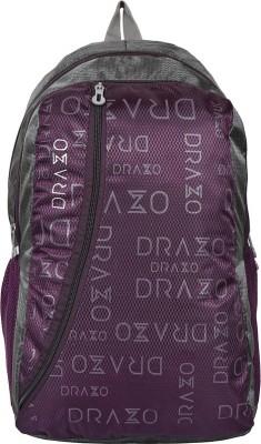 81de7ad8e7cf 70% OFF on DRAZO DRZ-2003 Waterproof School Bag(Purple