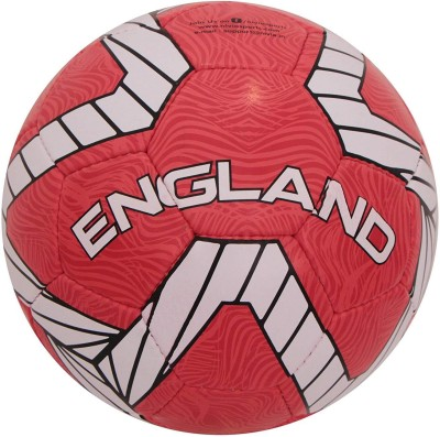 Nivia Kross World England Football - Size: 5(Pack of 1, Red, White)