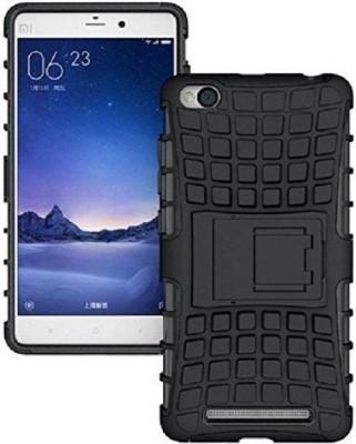 Techforce Back Cover for Mi Redmi 4A Black