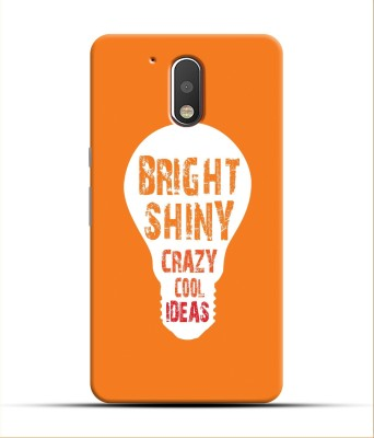 Saavre Back Cover for Bright Shiny Crazy Cool Ideas for MOTO G4 PLUS(Multicolor, Hard Case, Polycarbonate)