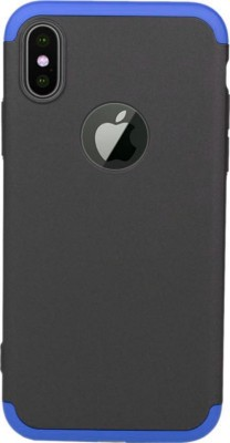 KartV Front   Back Case for Apple iPhone X Black