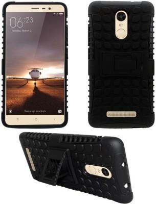 CELLCAMPUS Back Cover for Mi Redmi Note 3 Black
