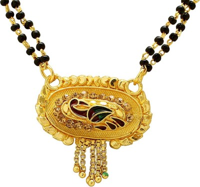 Shining Jewel Brass Jewel Set(Gold)
