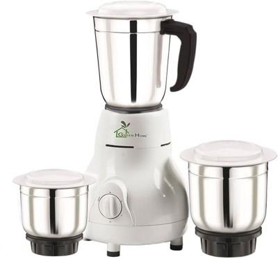 Havells Genie Green 500W 3 Jars Mixer Grinder (Green)