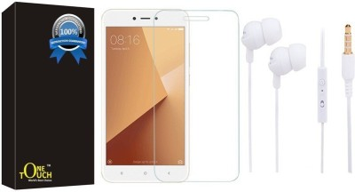 One Touch Screen Protector Accessory Combo for Redmi Y1(Transparent)