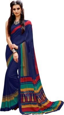 Jhilmil Fashion Printed Daily Wear Georgette Saree(Multicolor)