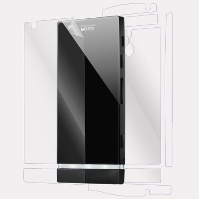 Snooky Front and Back Tempered Glass for Sony Xperia P(Pack of 1)