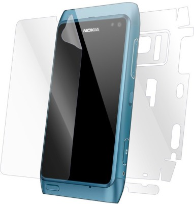 Snooky Front and Back Tempered Glass for Nokia N8(Pack of 1)