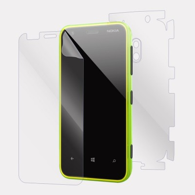 Snooky Front and Back Tempered Glass for Nokia Lumia 620(Pack of 1)