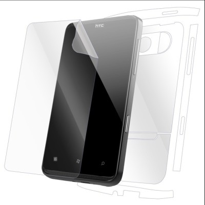 Snooky Front and Back Tempered Glass for HTC HD7(Pack of 1)