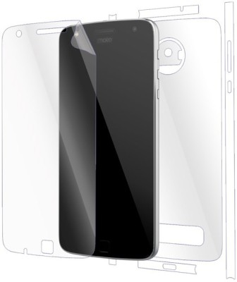 Snooky Front and Back Tempered Glass for Motorola Moto Z Play