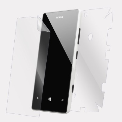 Snooky Front and Back Tempered Glass for Nokia Lumia 520(Pack of 1)