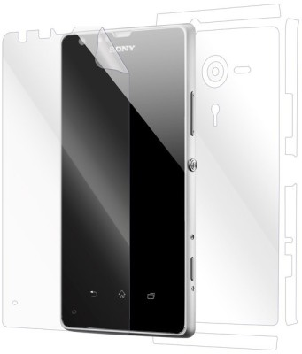 Snooky Front and Back Tempered Glass for Sony Xperia SP(Pack of 1)