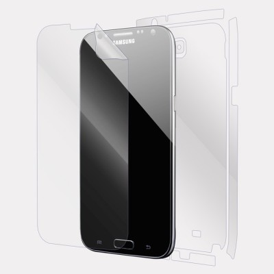 Snooky Front and Back Tempered Glass for Samsung Galaxy Note 2(Pack of 1)