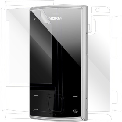 Snooky Front and Back Tempered Glass for Nokia X3(Pack of 1)