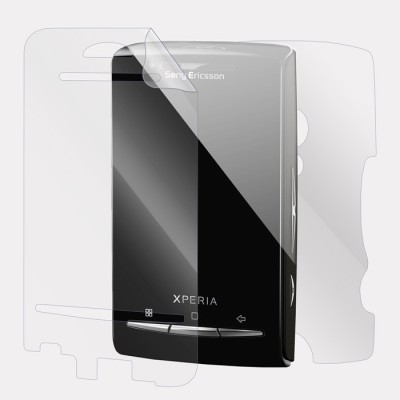 Snooky Front and Back Tempered Glass for sony xperia x10 mini(Pack of 1)
