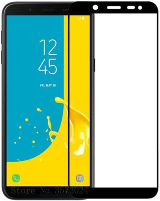 SoftTech Tempered Glass Guard for Samsung Galaxy J6(Pack of 1)