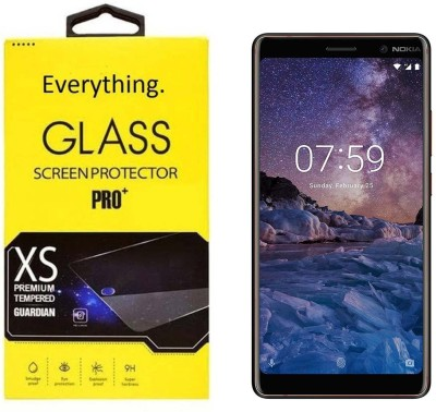 PRINT EVERYTHING Tempered Glass Guard for Nokia 7 Plus