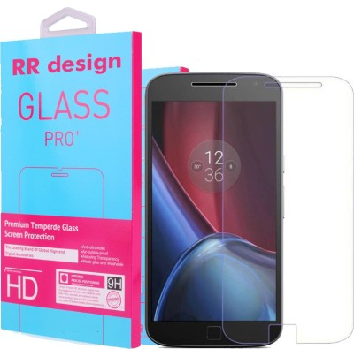 RR DESIGN Tempered Glass Guard for Motorola Moto E5 Plus(Pack of 1)