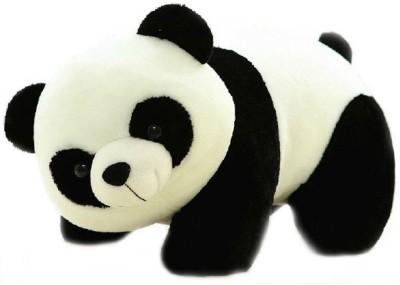 TRA  GBARE Toys Stuffed Soft Plush Toy Kids Birthday Black Panda   26 cm Multicolor TRA  GBARE Soft Toys
