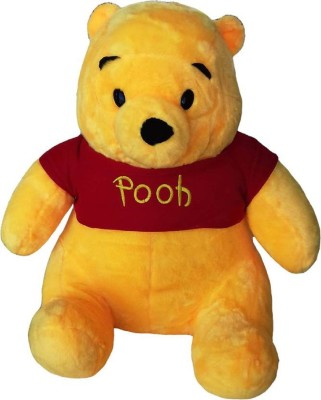 OYD Premium POOH Soft Toy For Kids 35cm  multicolor    35 cm Yellow OYD Soft Toys