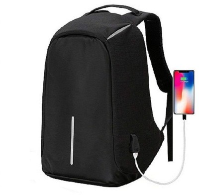 132427f53f Anti-theft Mens Laptop Notebook Backpack USB Charging Port School ...