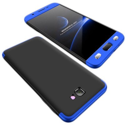 IDesign Front   Back Case for Samsung Galaxy J7 Prime Black