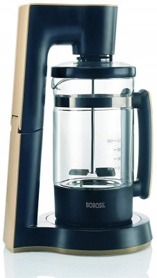 Borosil BKE1LPBG41 6 Cups Coffee Maker(Black)